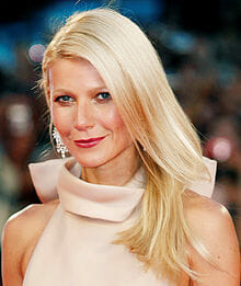 Gwyneth Paltrow tops the list of hated celebrities.