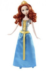 Image of a Merida Barbie doll.
