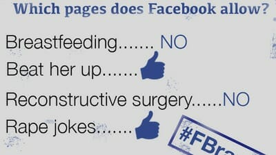 Pages Facebook approves/disapproves of.
