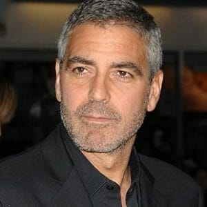 Actor, George Clooney.