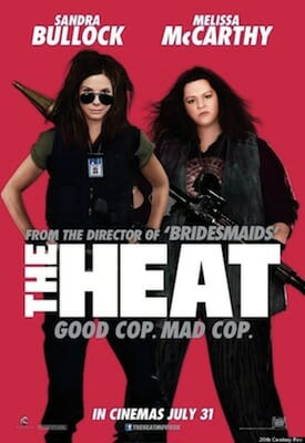 The Heat movie poster.