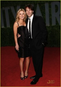 Anna Paquin and her husband.