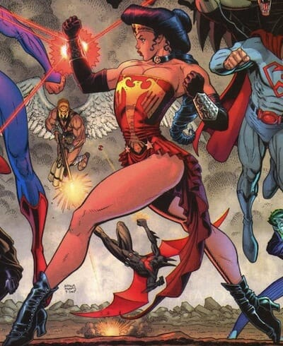 Amazonian Wonder Woman.