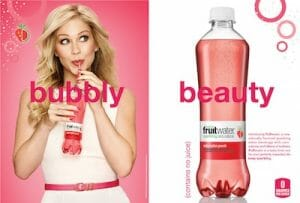 Fruitwater advertisement