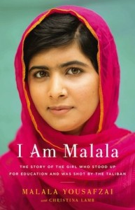 I Am Malala book cover.