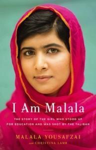 I Am Malala book cover.