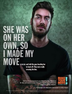 Make Your Move Campaign poster.
