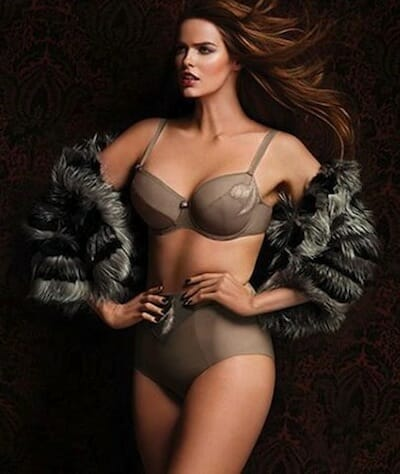 "Australian ""plus-sized"" model Robyn Lawley."