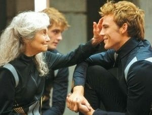 Mags and Finnick of Catching Fire.