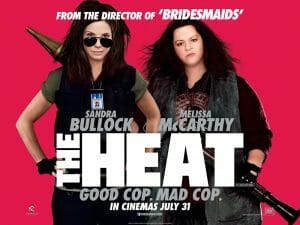 A promotional poster for the move The Heat