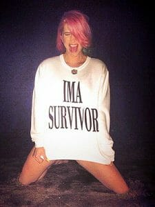 Kesha's shirt says it all