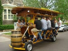 Brews and Cycling? Sign me up!