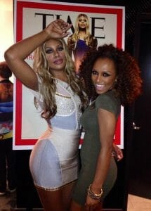 Laverne Cox and Janet Mock