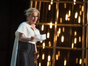 patricia arquette speaking at 2015 Academy Awards ceremony