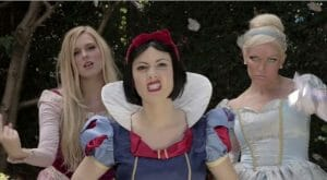 snow white in rap battle