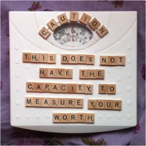 this scale does not have the capacity to measure your worth