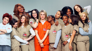 The cast of Orange is the New Black.