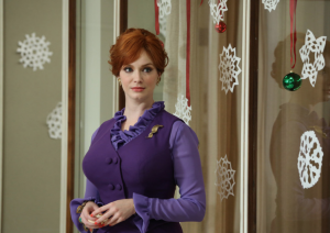 Joan Holloway from the TV show Mad Men.
