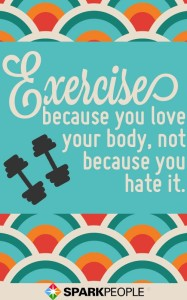 Whichever way you choose to sweat, make sure it also makes you smile!