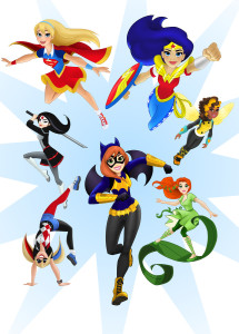 dc super hero girl action figures