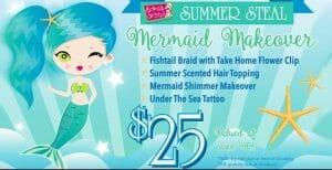 mermaid makeover ad