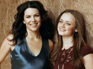 Lorelai and Rory from Gilmore Girls.