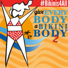 Check out About-Face's Give Every Body a Bikini Body 2 campaign at https://www.about-face.org/bikinis4All/ #Bikinis4All