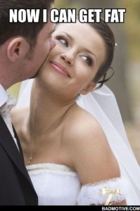 Wedding blog get fat