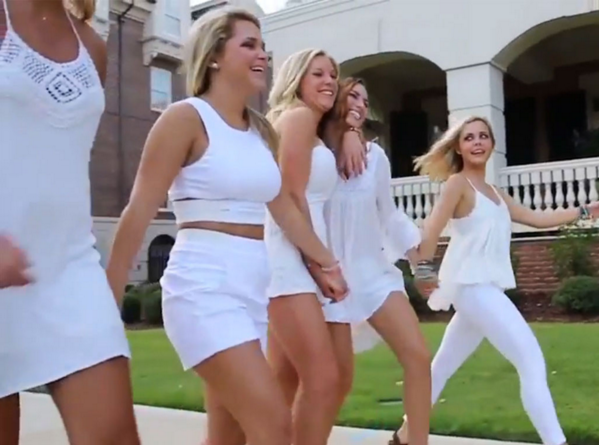 """The members of this chapter of Alpha Phi are selling a very limited definition of """"desirable"""" female."""