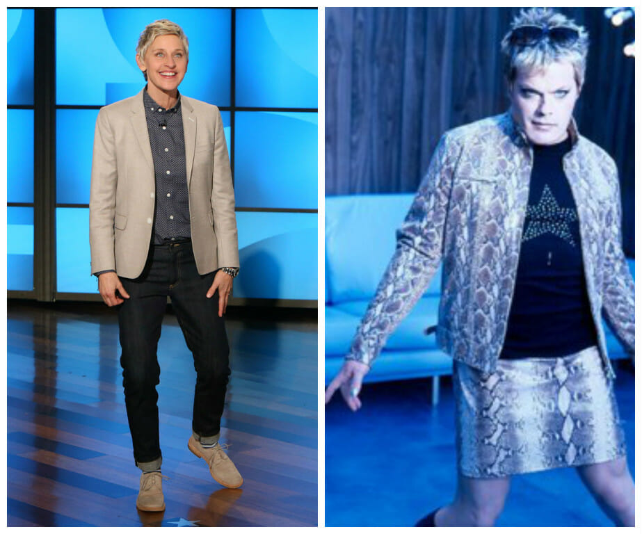 If Ellen's clothes are gender-neutral, why aren't Eddie's?